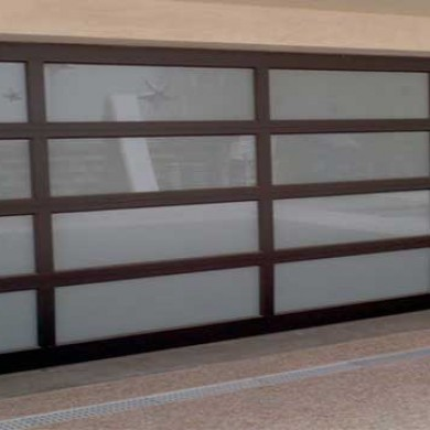Fiberglass & Glass Garage Doors Installed By Garage Experts