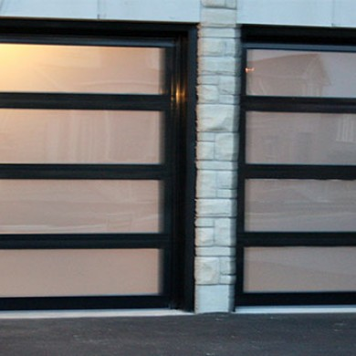 Glass Garage Doors Installed by Garage Experts