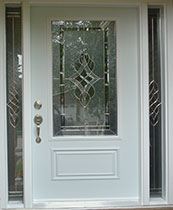 Stained Glass Fiberglass Doors Toronto