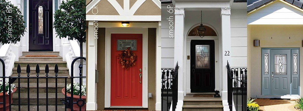 Smooth Fiberglass Doors Installed by Fiberglass Doors Toronto Group