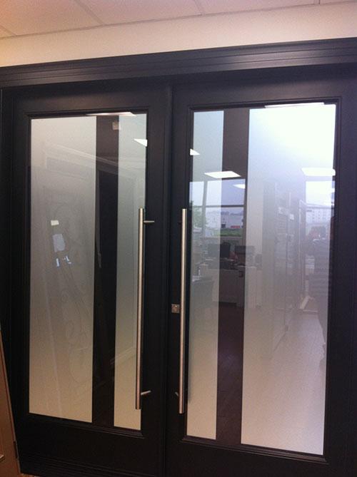 Modern Exterior Door With Multi Point Locks 4 Door Lites: Fiberglass Doors Toronto » 8 Foot Fiberglass Doors