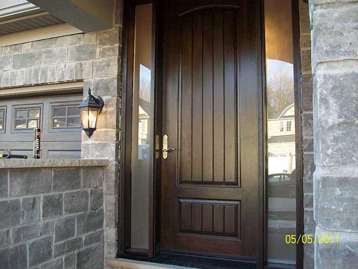 Fiberglass doors toronto executive fiberglass doors for 8 foot entry doors