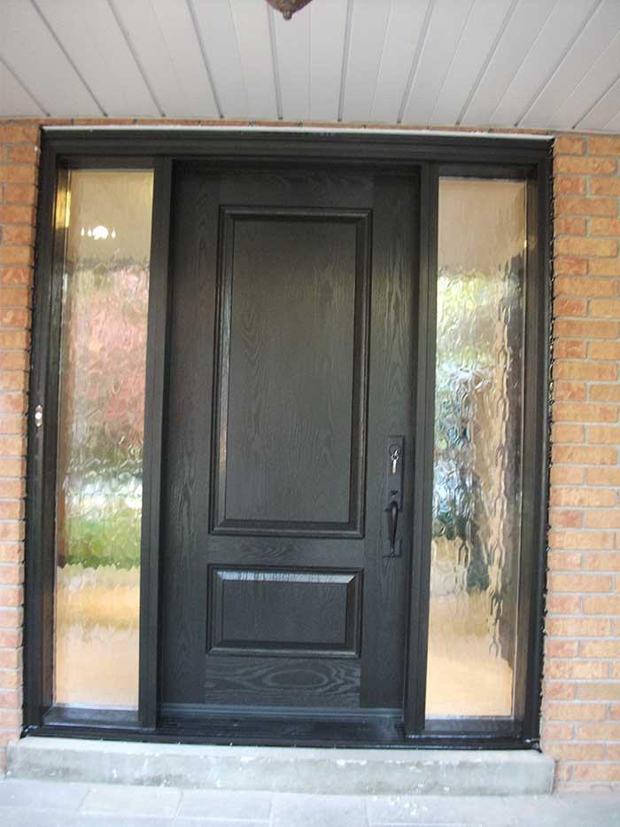 Fiberglass Doors Toronto WOOD GRAIN FIBERGLASS DOORS