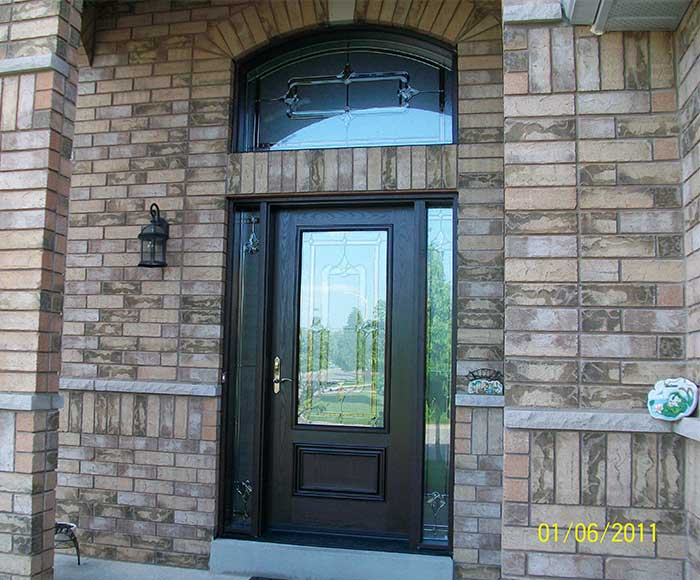 Fiberglass Doors Toronto Stained Glass Fiberglass Doors
