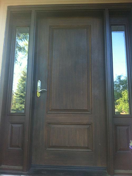 Fiberglass Doors Toronto 187 Wood Grain Fiberglass Doors