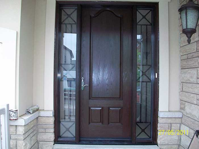 Fiberglass Executive Doors 8-Foot-FiberglasSigle-Solid-Door-with- & Fiberglass Doors Toronto » EXECUTIVE FIBERGLASS DOORS