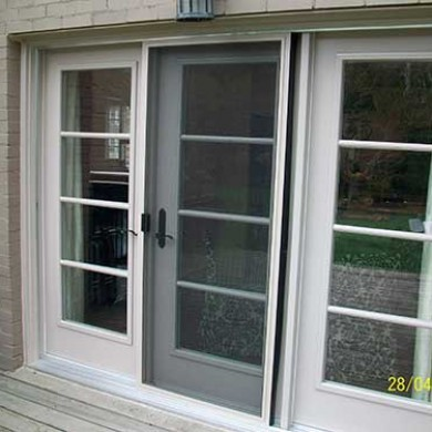 French Smooth Fiberglass Doors Installed by Fiberglass Doors Toronto