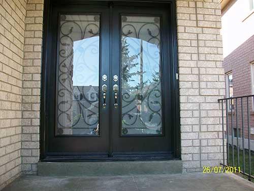 Jullietta Smooth Fiberglass Doors with Multi Points locks installed by Fiberglass Doors Toronto & Fiberglass Doors Toronto » Top Tips for Purchasing Fiberglass Entry ...
