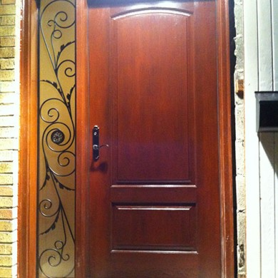 Wooden single door design home design for Wooden single door design for home