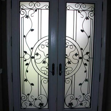Smooth Exterior Fiberglass Doors installed by Fiberglass Doors Toronto
