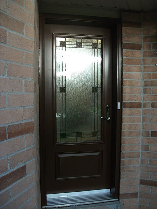 Single Fiberglass Door : Fiberglass doors toronto smooth