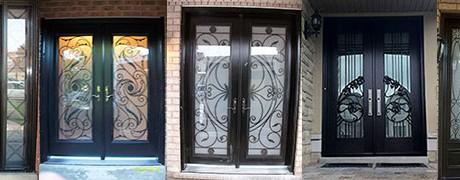 Front Exterior Fiberglass Doors by www.fiberglassdoorstoronto.net