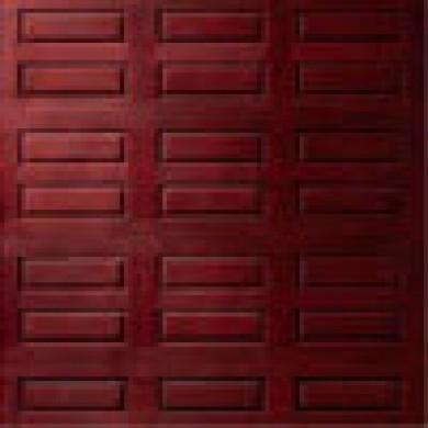 8 Foot Fiberglass Garage Door-Panel 9800 Horizontal