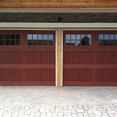 Fiberglass Garage Doors with Windows installed by Garage Experts in Vaughan
