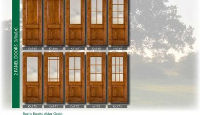 Richerson MasterGrain Premium Fiberglass Entry Doors- Richerson Rustic Knotty Collection-Rustic Rustic Knotty Alder Grain by Fiberglass Doors Toronto