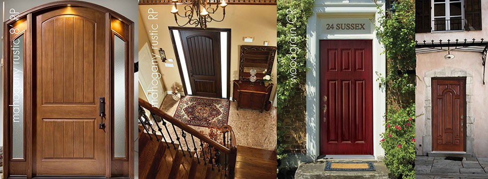 Rustic Fiberglass Doors Installed by Fiberglass Doors Toronto Group