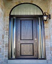 Woodgrain Fiberglass Doors Toronto