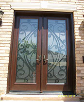 Wrought Iron Fiberglass Doors Toronto