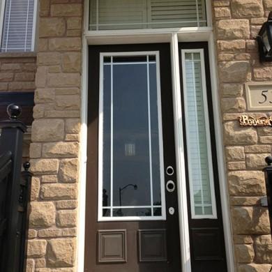 111-Sinle Door Before Installation