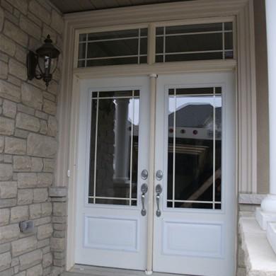 17- Double Doors Before Installation