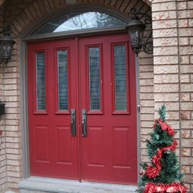 2-Double Doors- Before Installation