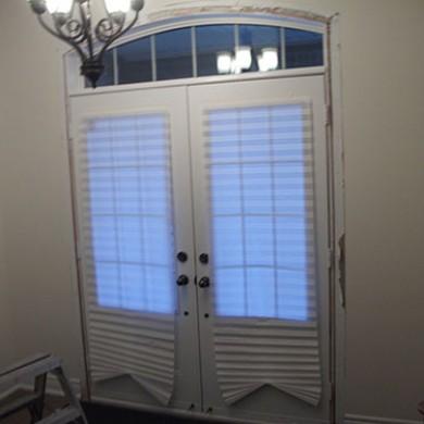 7- Double Door Before Installation,