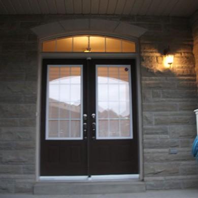 7- Double Door Before Installation