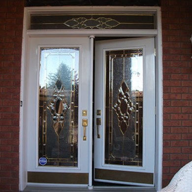 9- Double Doors Before Installation, Outside View