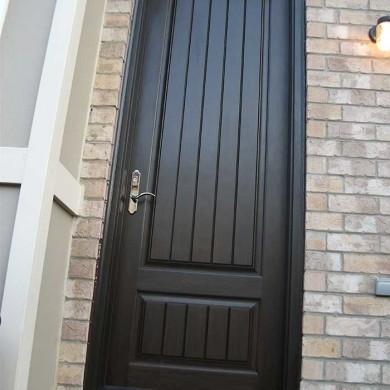 Executive Fiberglass Doors Back Door with Installed in King City Ontario by Fiberglass Doors Toronto