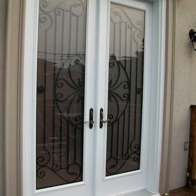 Smooth Exterior Doors, Custom Design installed by Exterior Doors Toronto
