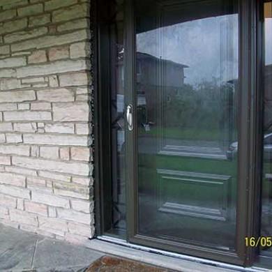 Smooth Exterior Fiberglass Doors installed by Fiberglass Doors Toronto