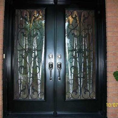 Smooth Exterior Primvera Design Fiberglass Doors installation by Fiberglass Doors Toronto