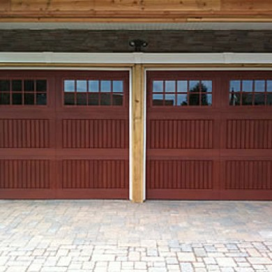 Fiberglass Garage Doors with Windows installed by Garage Experts in Vaughan