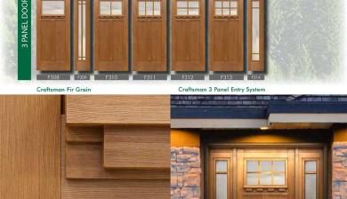 Richerson MasterGrain Premium Fiberglass Entry Doors- Richerson Craftsman Fir Collection-Craftsman Fir Grain by Fiberglass Doors Toronto