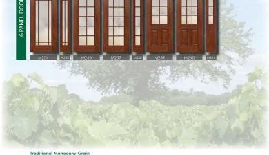 Richerson MasterGrain Premium Fiberglass Entry Doors- RichersonTraditional Mahogany Collection-Traditional Mahogany Grain by Fiberglass Doors Toronto