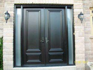 Fiberglass-Executive-Doors-8-foot-Smooth-Fiberglass-Solid-Doors-installed-in-Vuaghan-by-Fiberglass-Doors-Toronto
