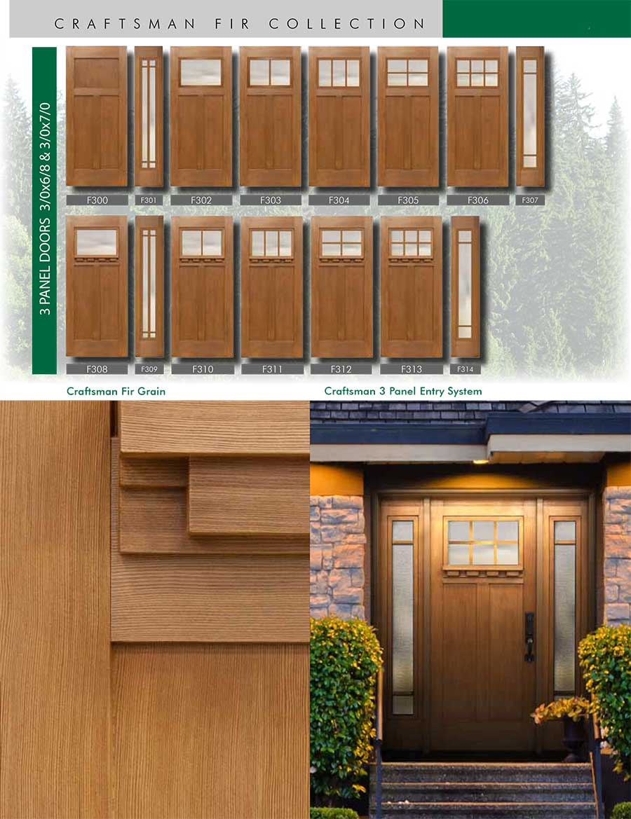Richerson-MasterGrain-Premium-Fiberglass-Entry-Doors-Richerson-Craftsman-Fir-Collection-Craftsman-Fir-Grain-by-Fiberglass-Doors-Toronto