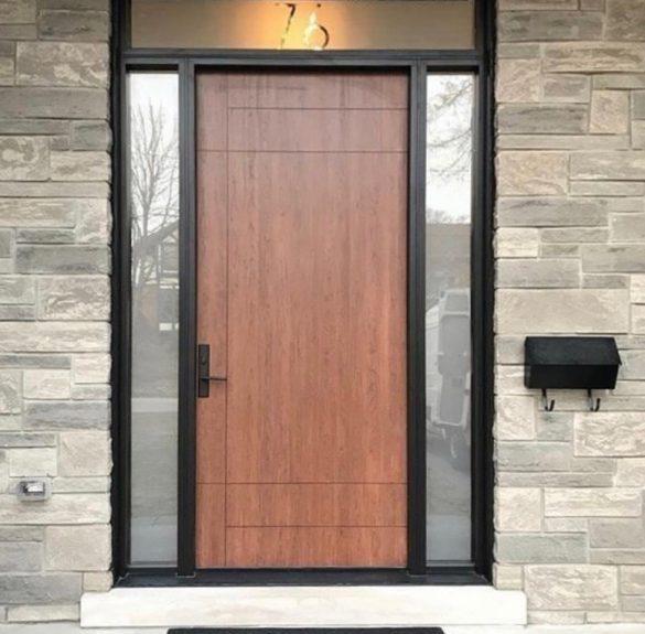 Modern Fiberglass Door
